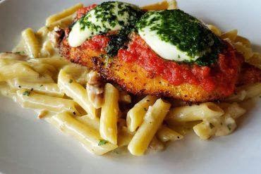 Chicken alla Parmigiana