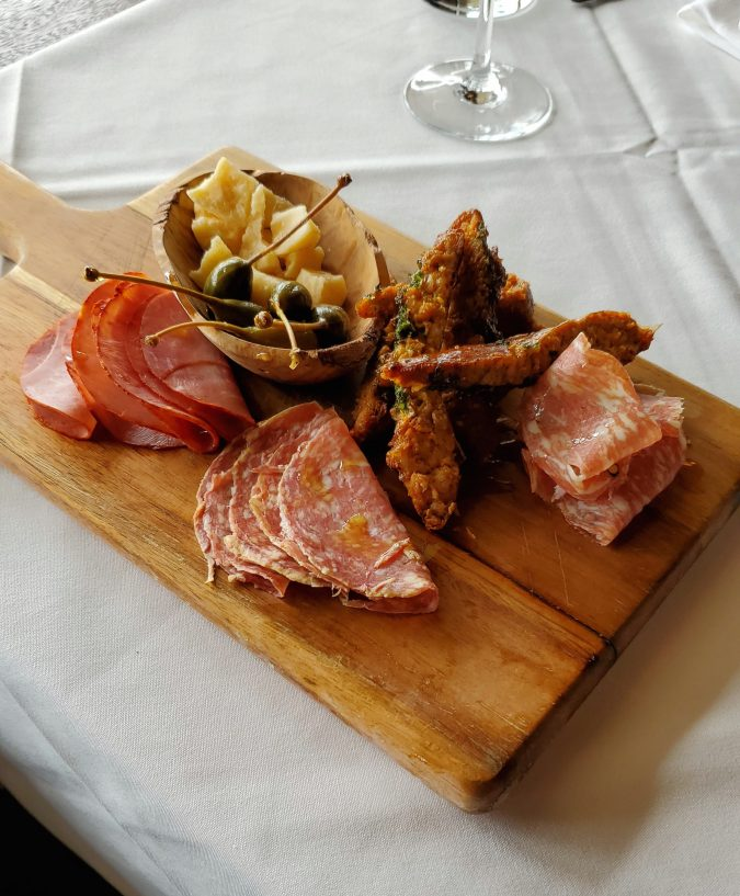 Cured Meat Board for Two