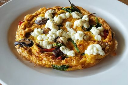 Grilled Vegetable Frittata