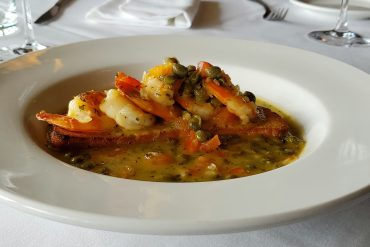 Shrimp Limoncello