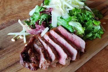 Sliced Steak Salad
