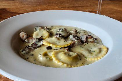 Stuffed Pasta - Mushroom Ravioli