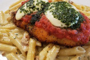 Veal alla Parmigiana