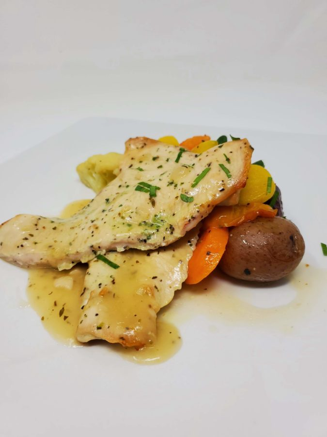 Chicken Scaloppini Limone
