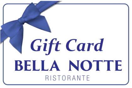 Bella Notte Gift Card